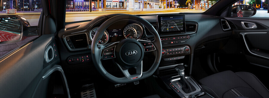kia proceed dashboard